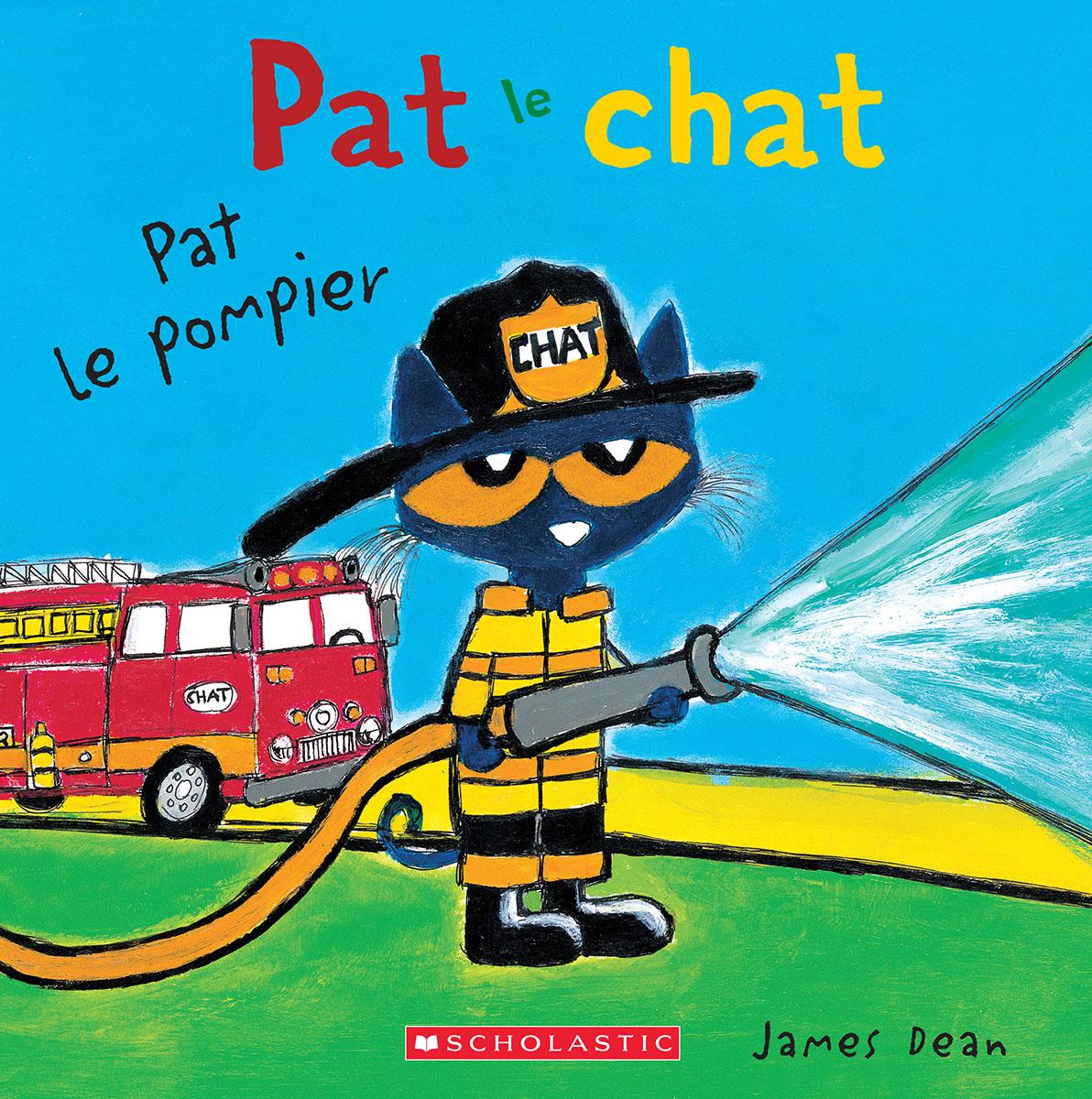 Pat le chat : Pat le pompier