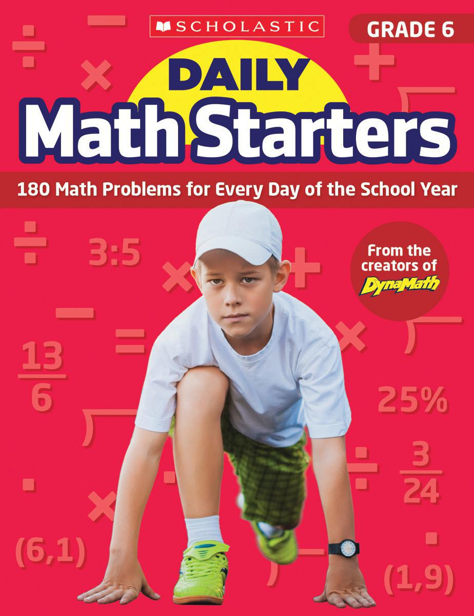 Daily Math Starters: Grade 6
