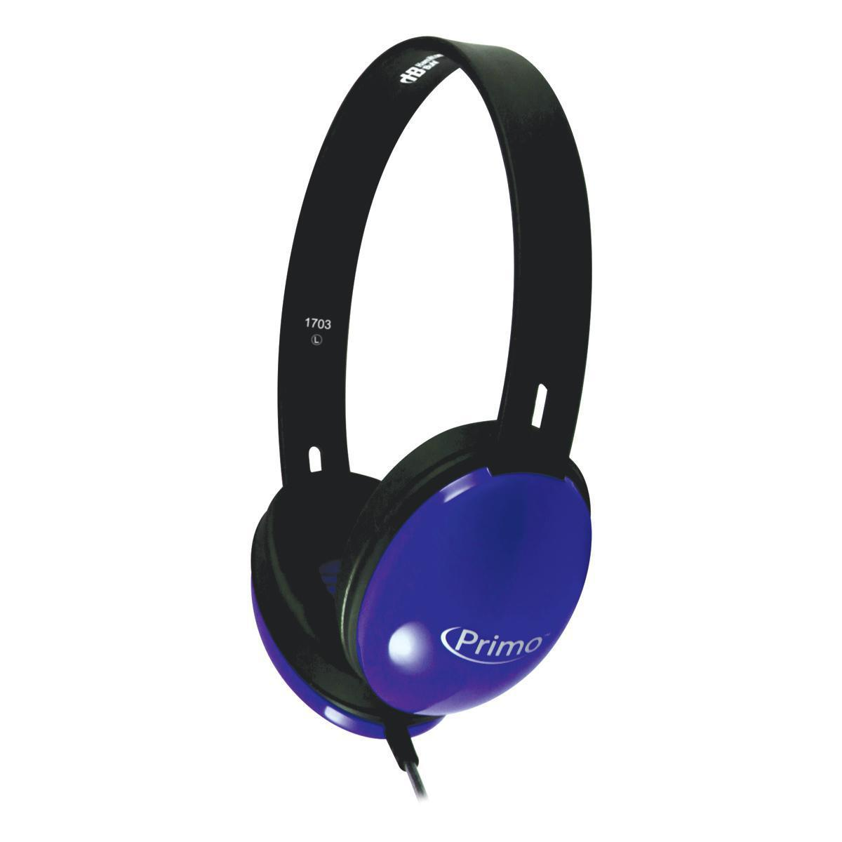 HB Primo® Headphones Blue