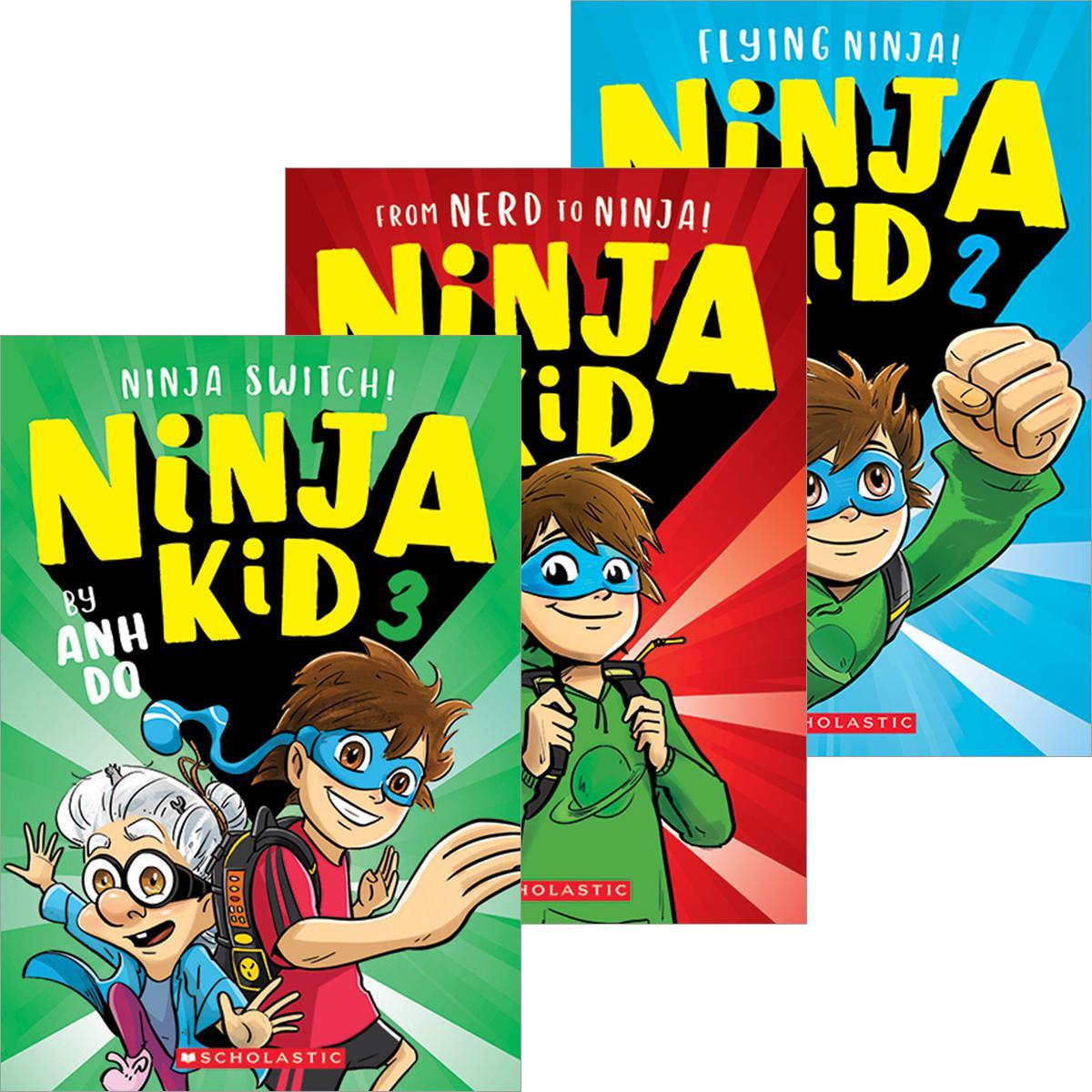 Ninja Kid #1-#3 Pack