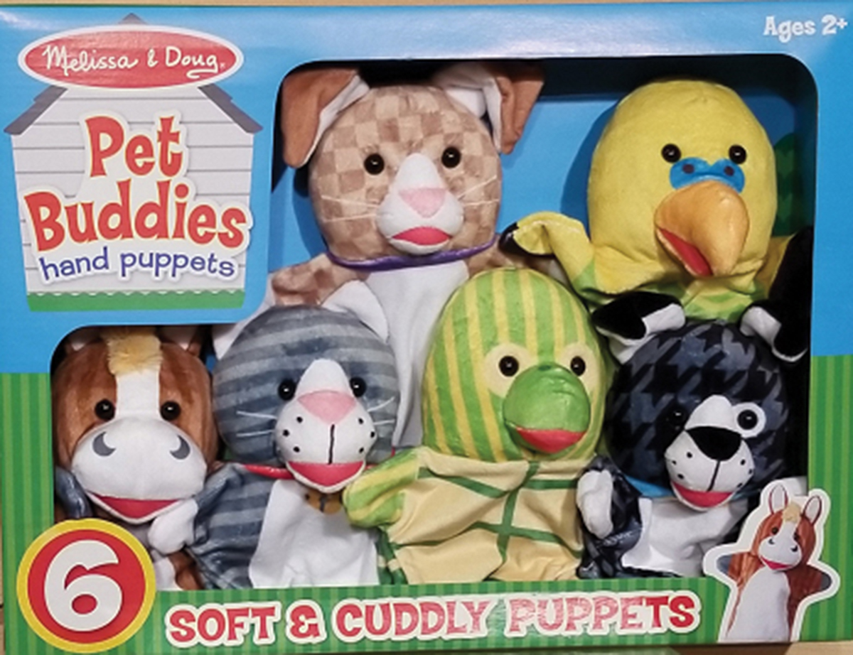 Pet Buddies Hand Puppets