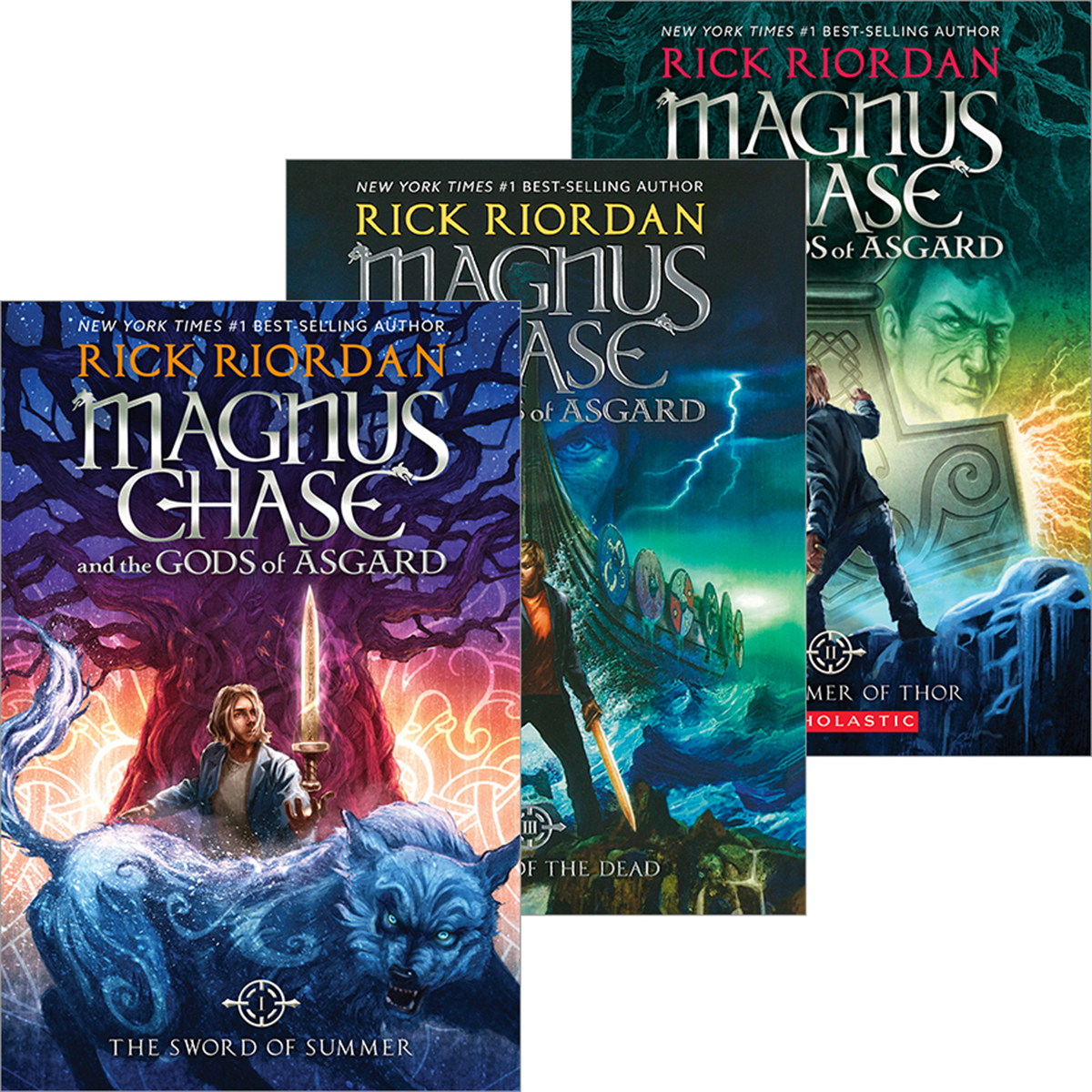 Magnus Chase  #1 - #3 Pack