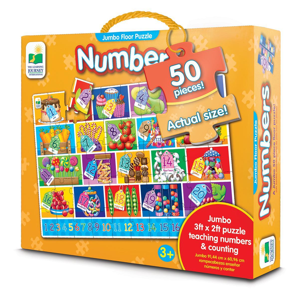 Jumbo Floor Puzzle: Numbers