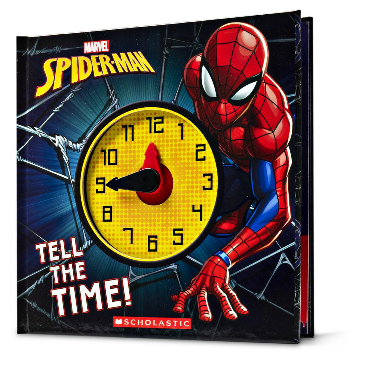 Marvel: Spider-Man: Tell the Time!