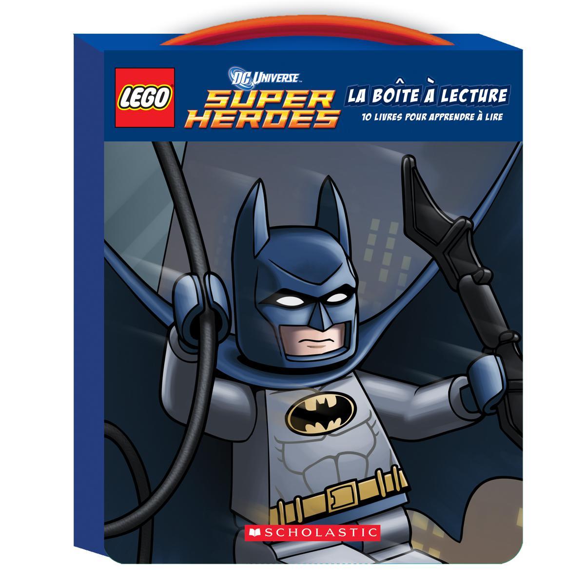 LEGO® DC Universe™ Super Heroes : La boîte à lecture