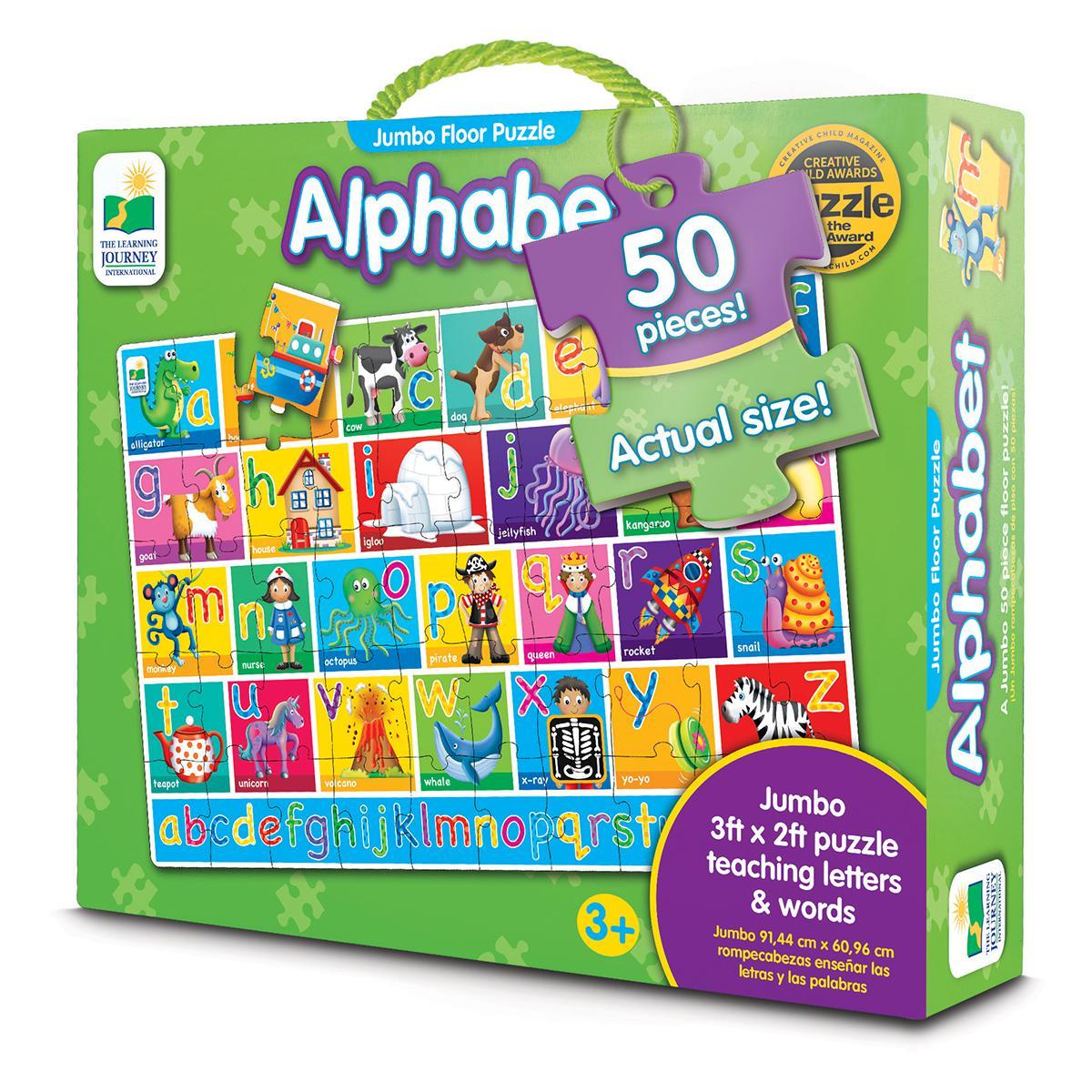 Jumbo Floor Puzzle: Alphabet