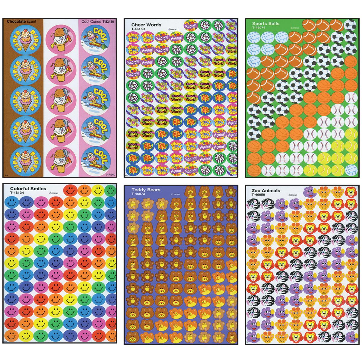 Jumbo Sticker Super Assortment Pack