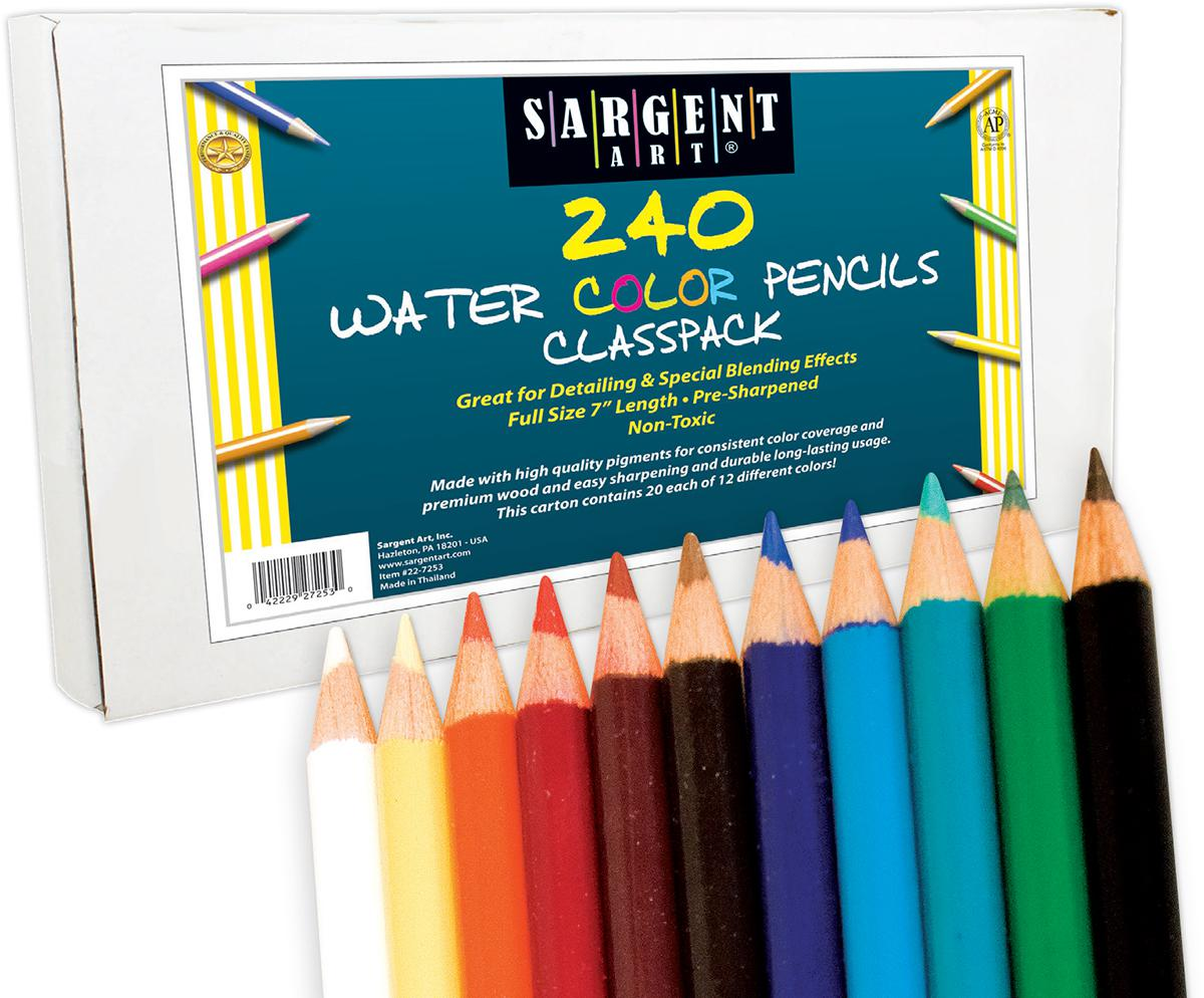 Sargent Art® Water Color Pencils Classpack