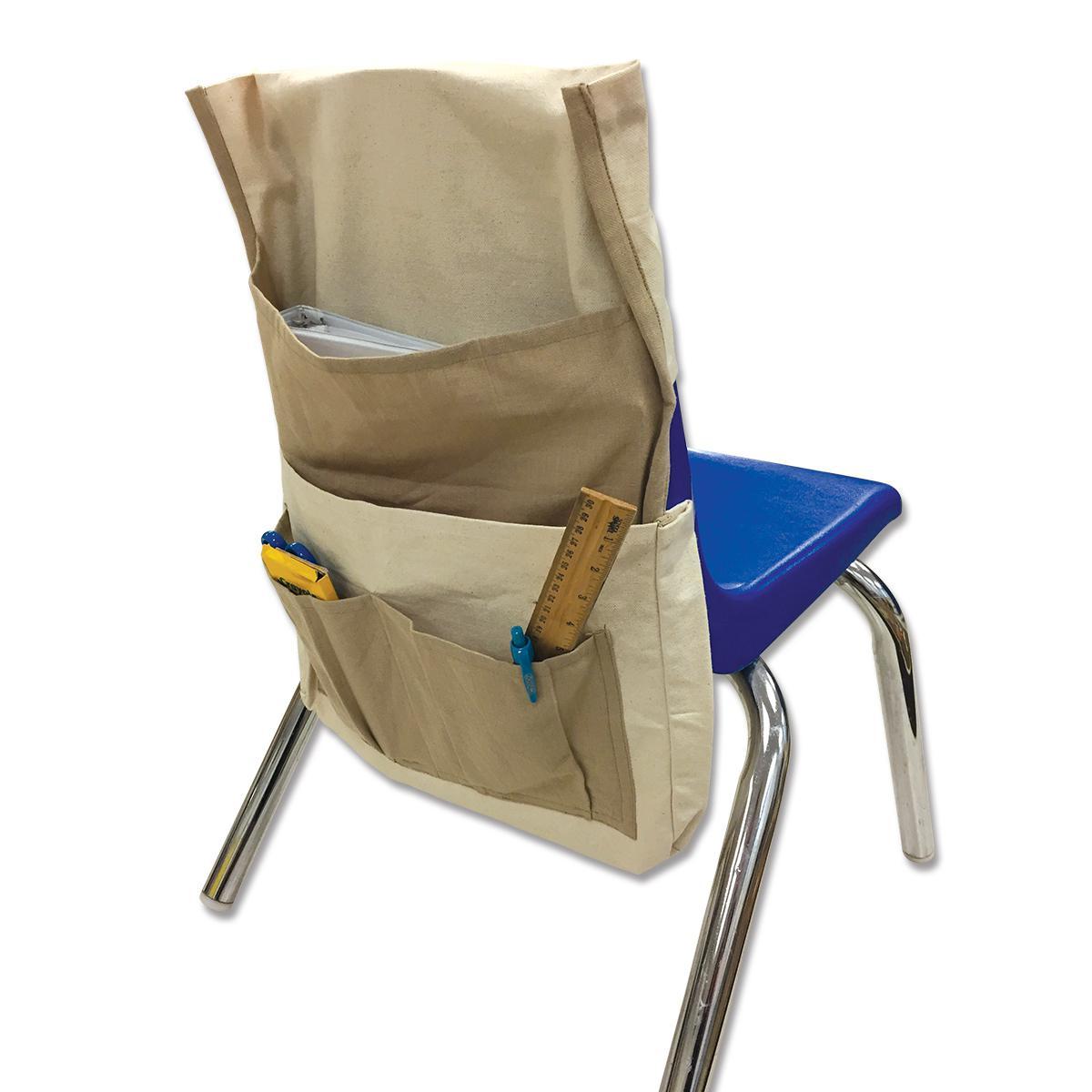 Pochette de rangement - Dos de chaise