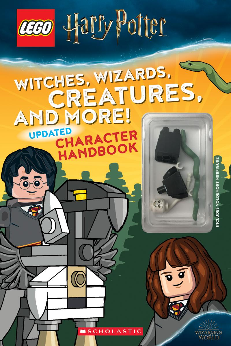 LEGO® Harry Potter: Witches, Wizards, Creatures, and More! Updated Character Handbook