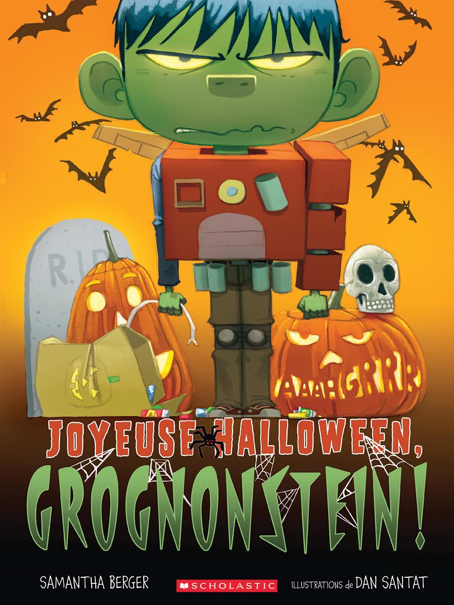 Joyeuse Halloween Grognonstein