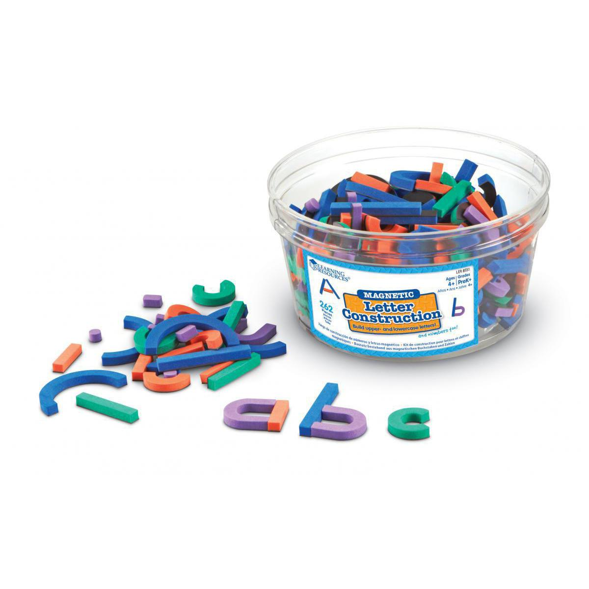 Letter Construction Magnets