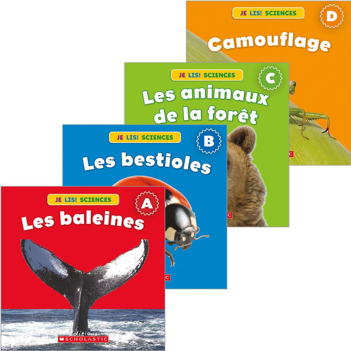 Collection Je lis! Sciences : Animaux - Série 1