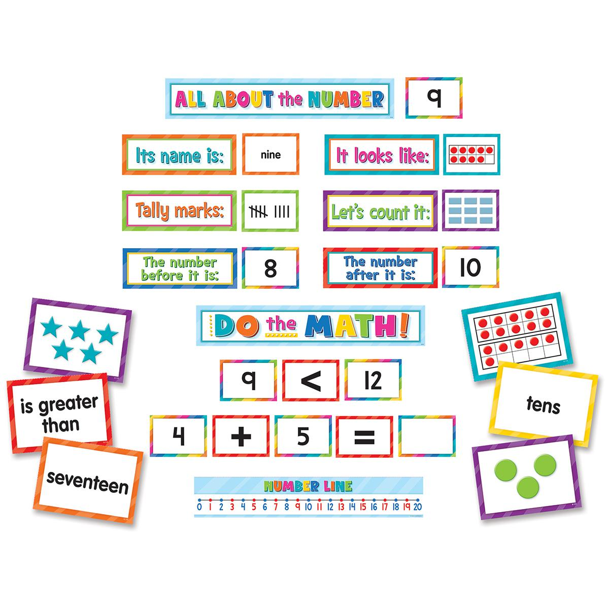 Numbers, Counting & More Pocket Chart Cards