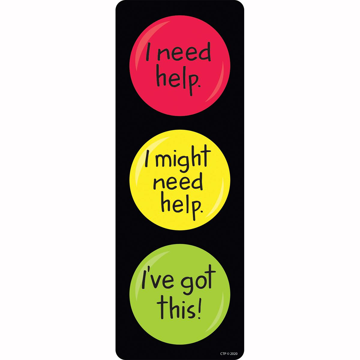 Learning Stoplight Bookmarks