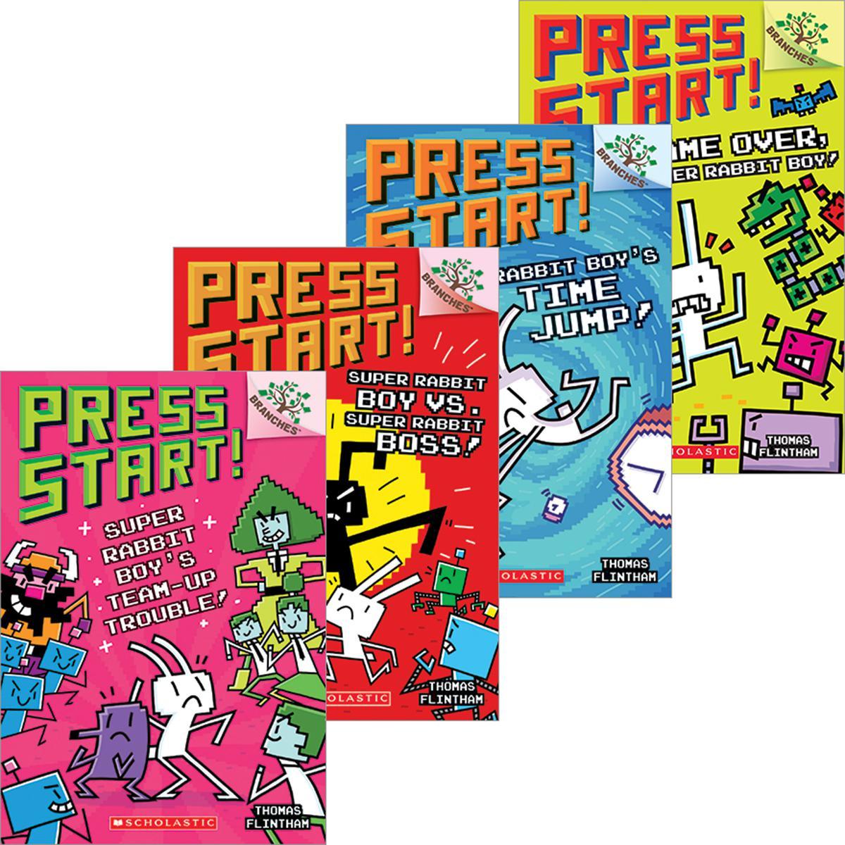 Press Start! #1-#10 Pack