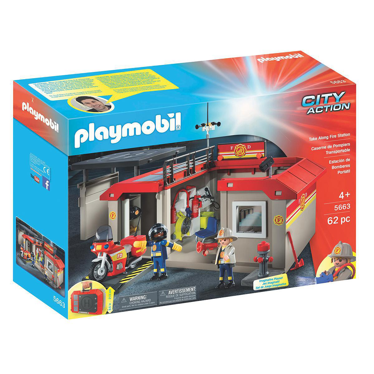Playmobil® Take Along Fire Station