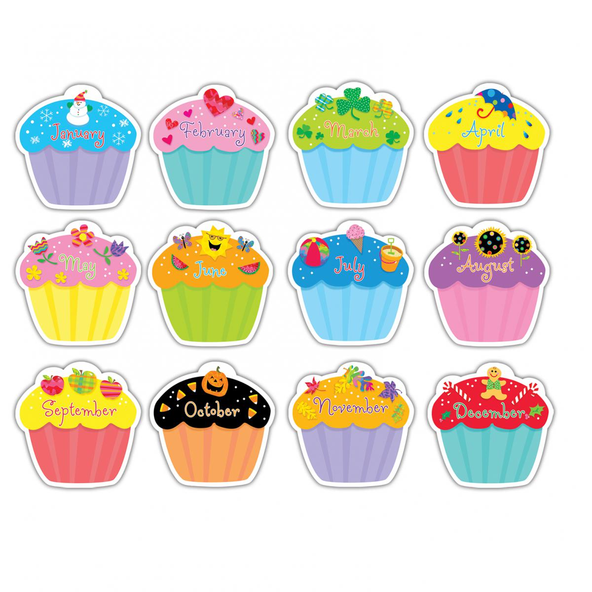 Cupcakes Cut-Outs
