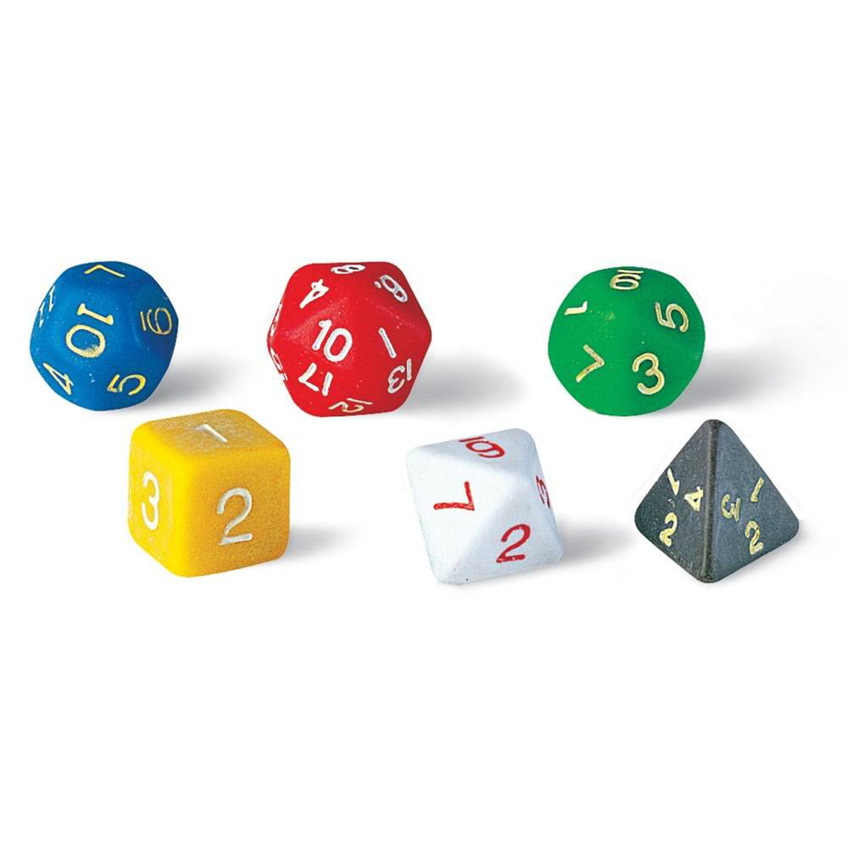 Polyhedral Dice Set of 6