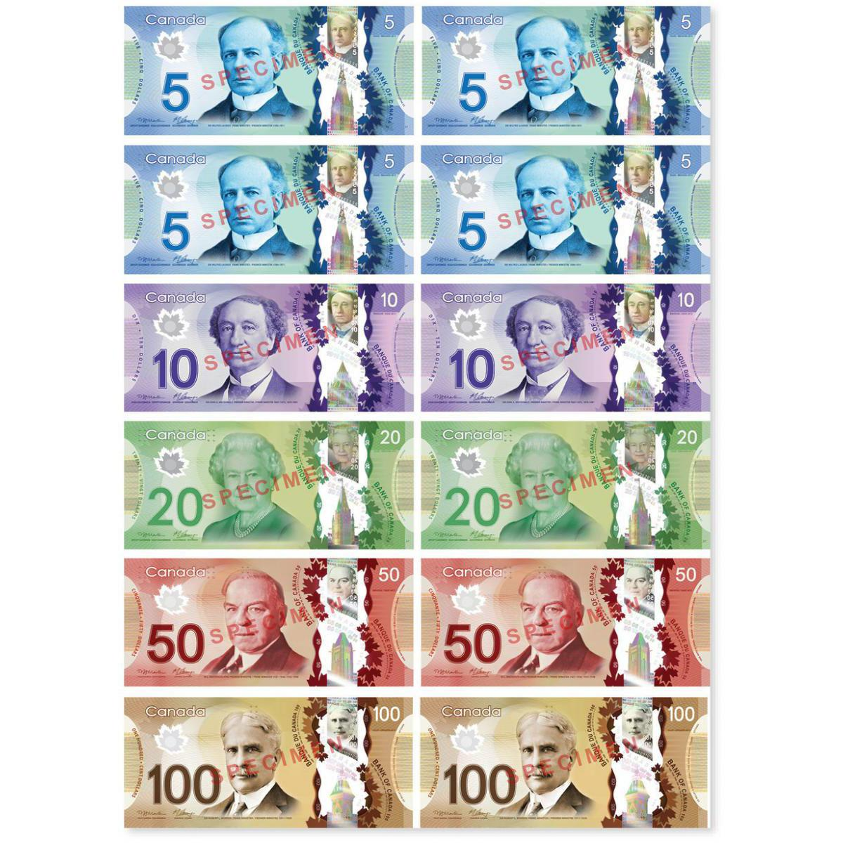 Magnetic Canadian Dollars