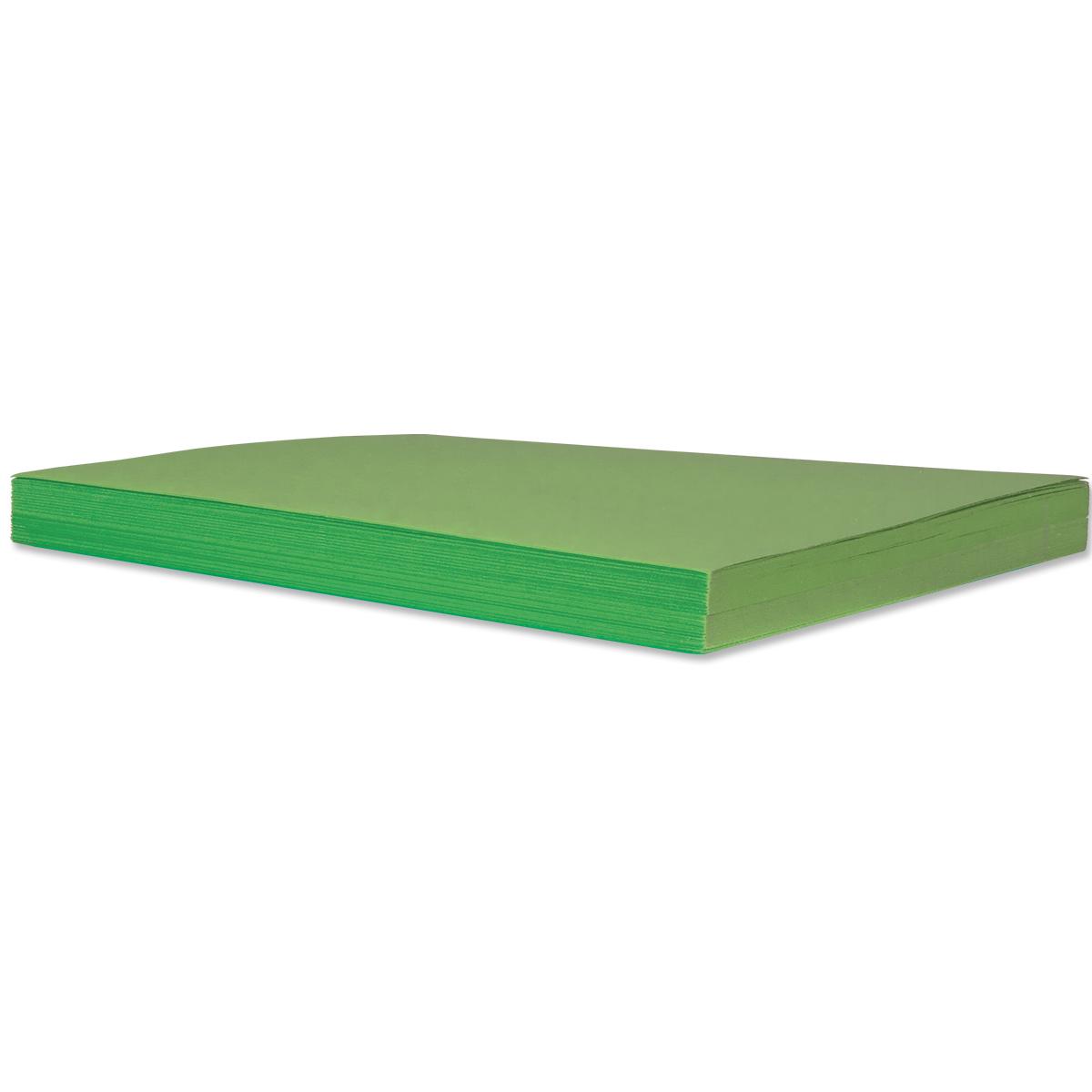 Papier de bricolage 50 feuilles : vert émeraude