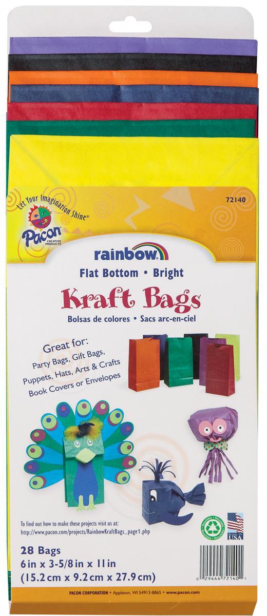 Sacs Rainbow Kraft