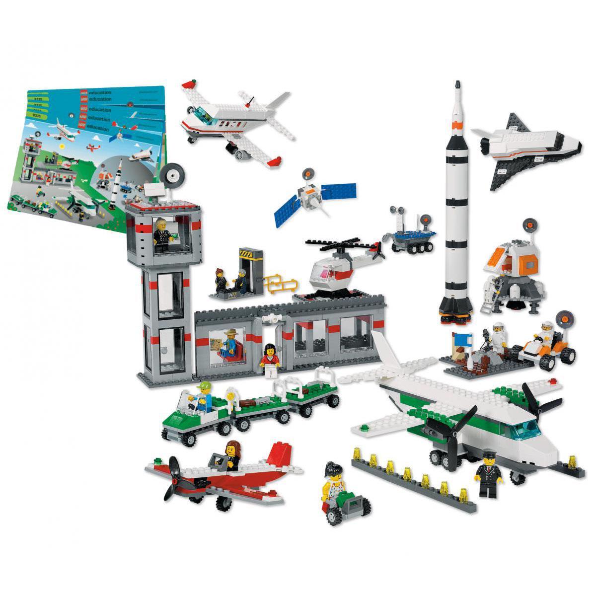 Aéroport et espace LEGO®
