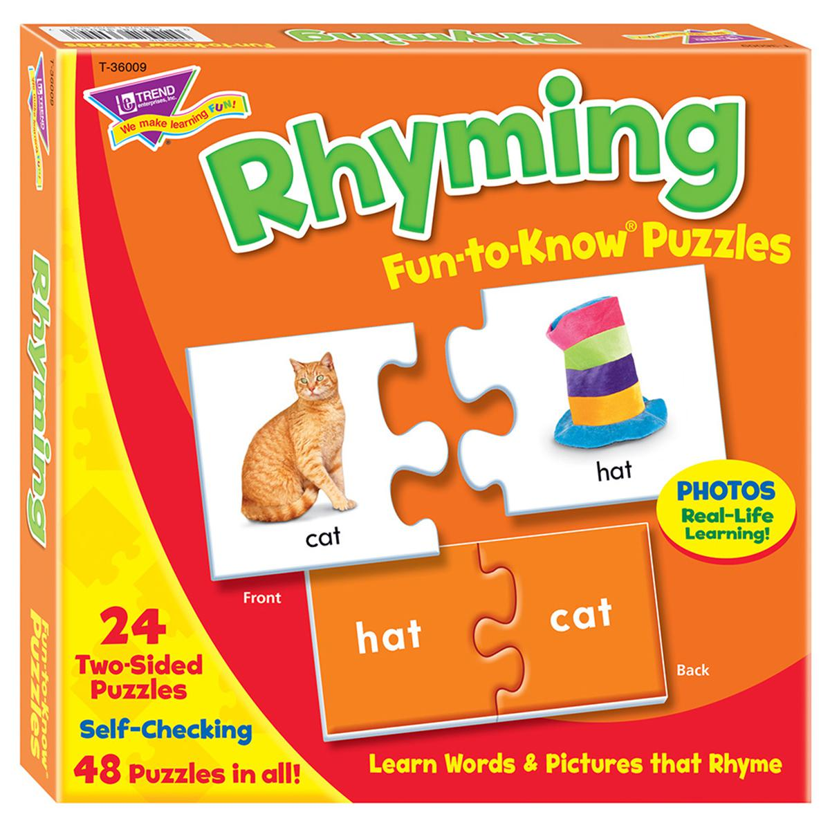 Fun-to-Know® Puzzles: Rhyming