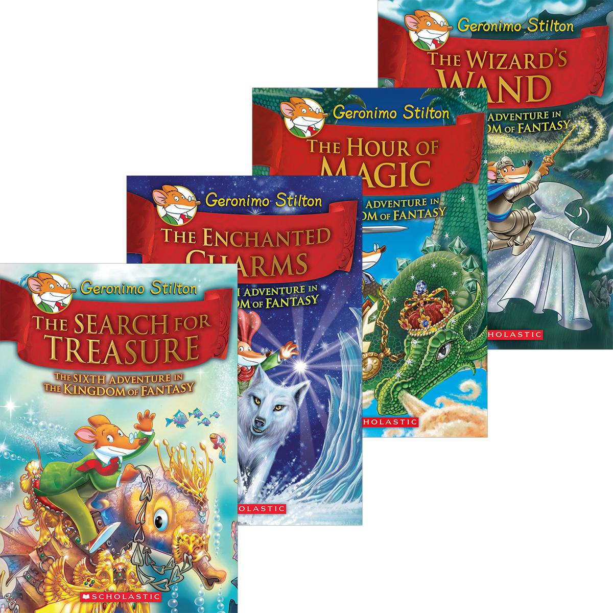Geronimo Stilton Kingdom of Fantasy #6-#10 Pack