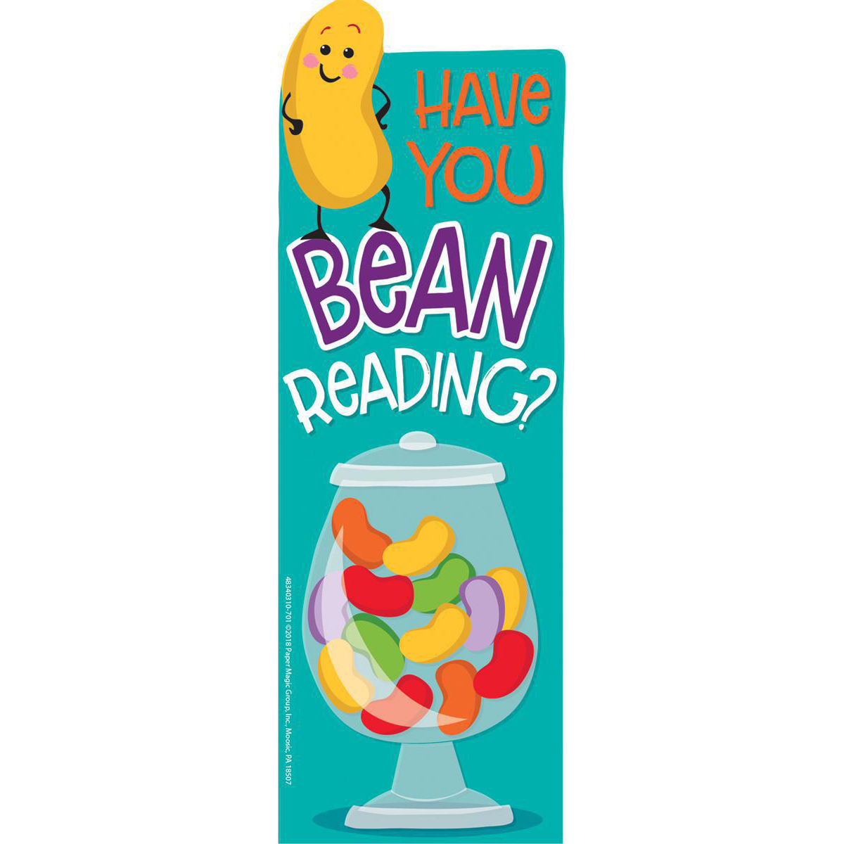 Jelly Bean Scented Bookmark