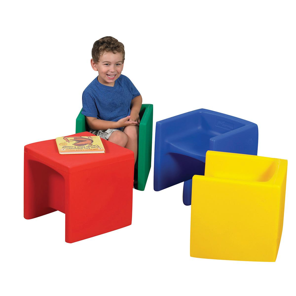 Cube Chairs Primary Set of 4