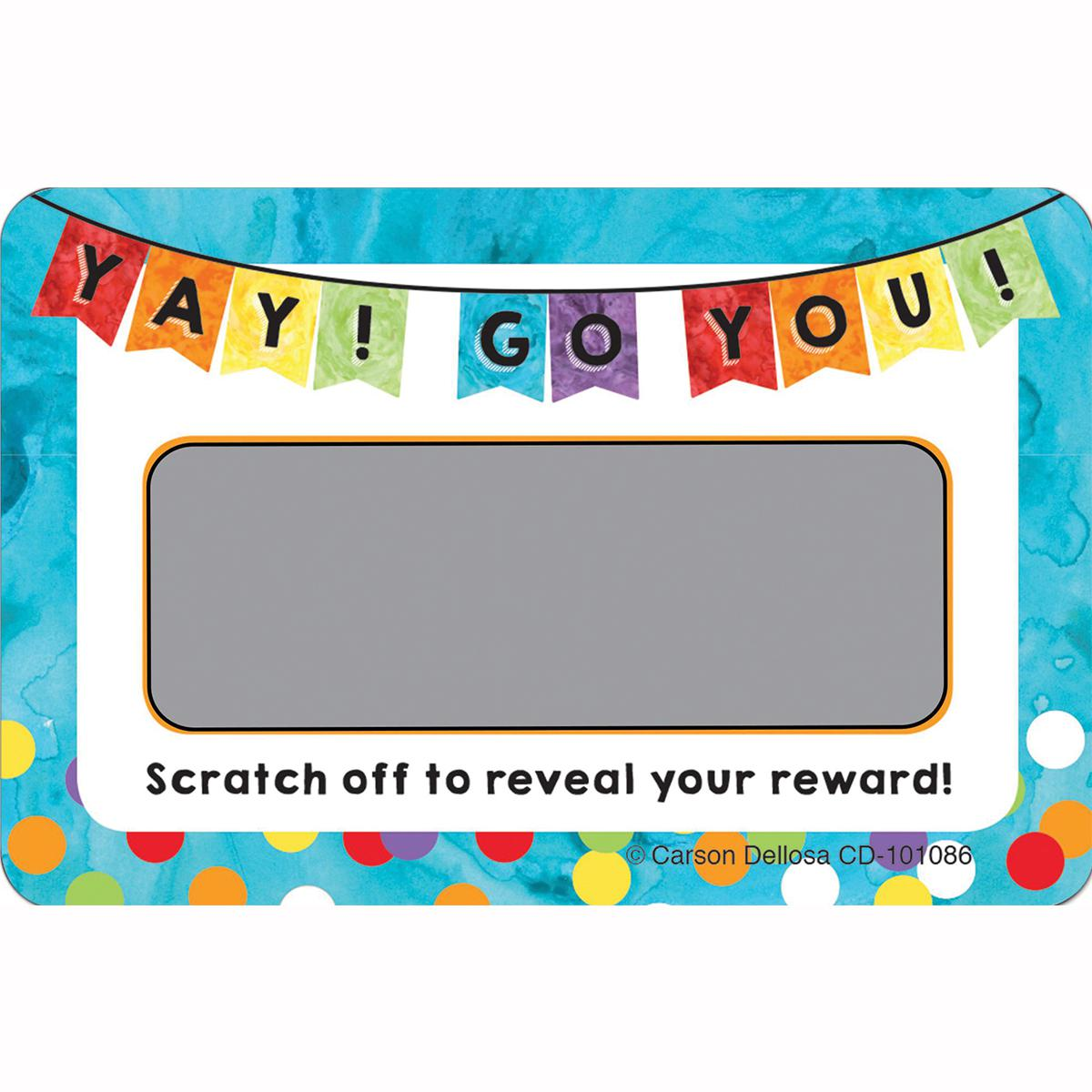 Yay! Go You! Scratch-Off Rewards
