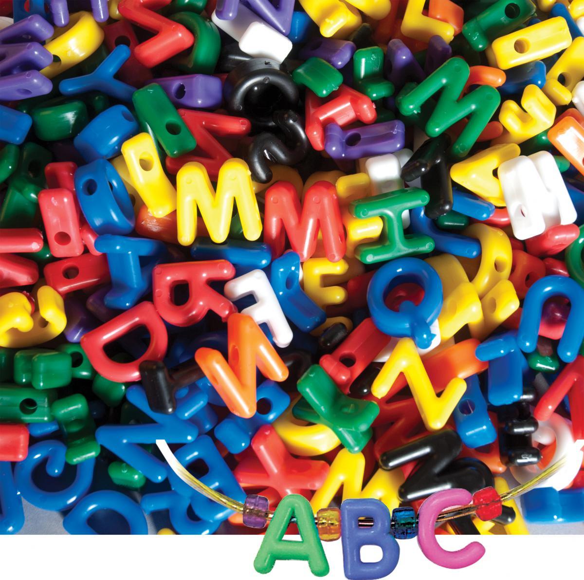 Manuscript Letter Beads
