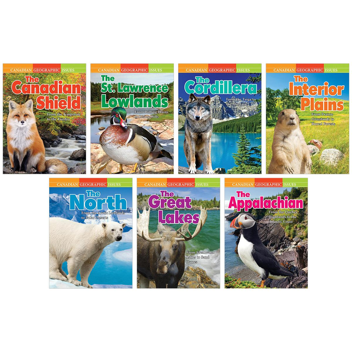 Canadian Geographic Issues 7-Pack