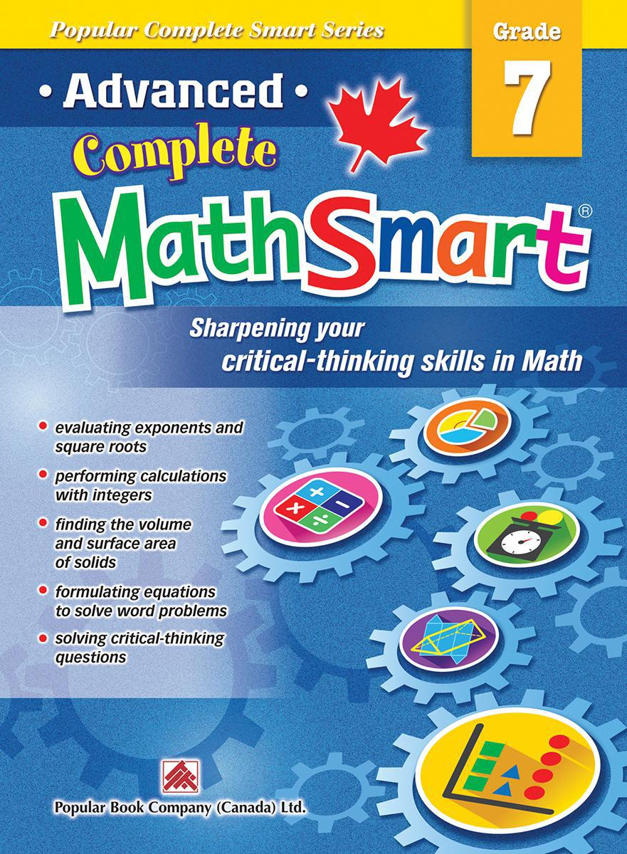 Advanced Complete MathSmart: Grade 7