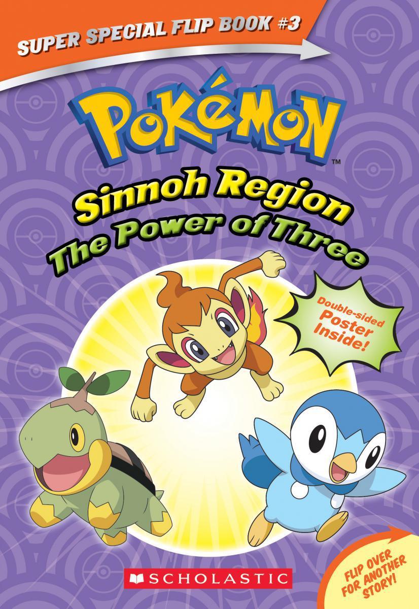 Pokémon: Super Special Flip Book #3: The Power of Three/Ancient Pokemon Attack