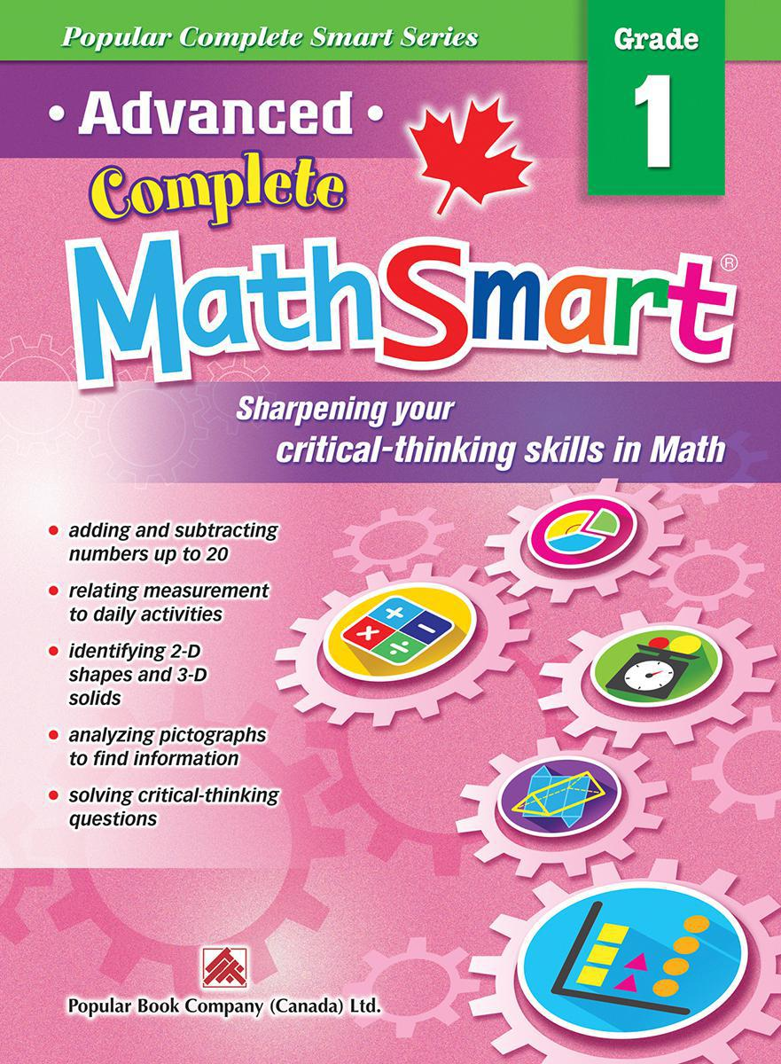 Advanced Complete MathSmart: Grade 1