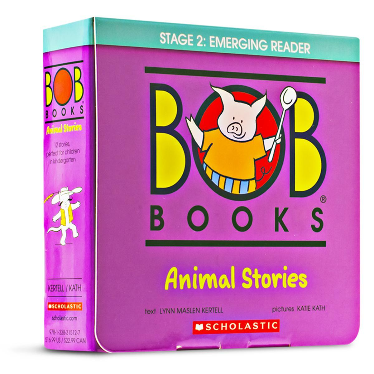 BOB Books®: Animal Stories Boxed Set