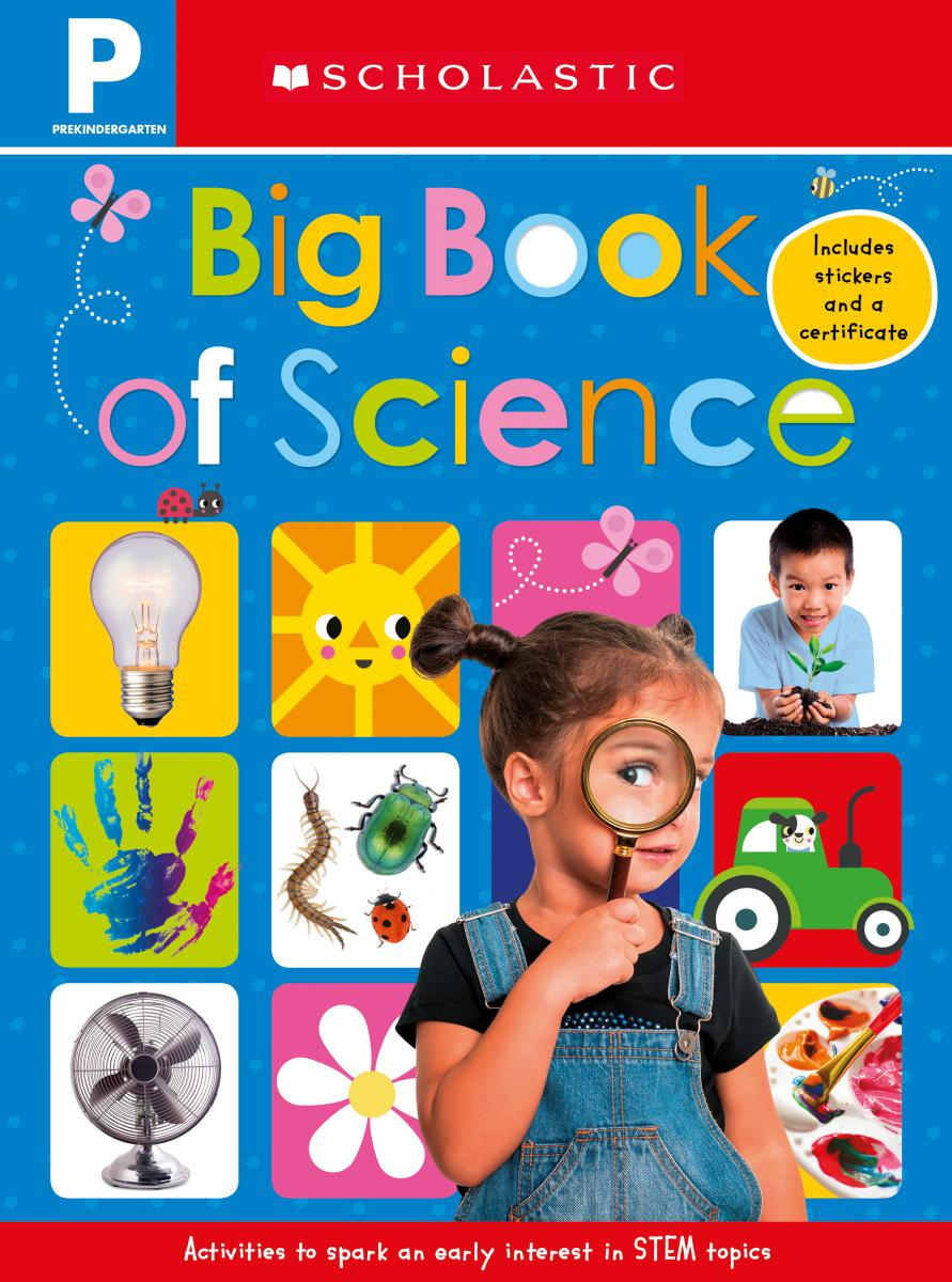 Scholastic Early Learners Pre-Kindergarten: Big Book of Science Workbook