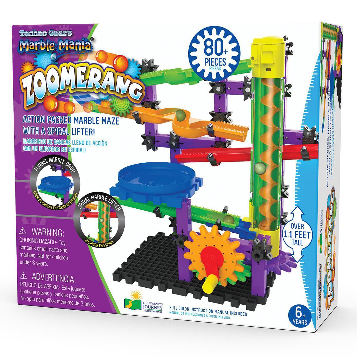 Techno Gears Marble Mania: Zoomerang 2.0