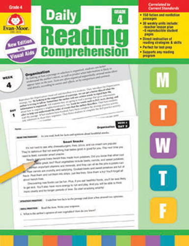 Daily Reading Comprehension: Grade 4