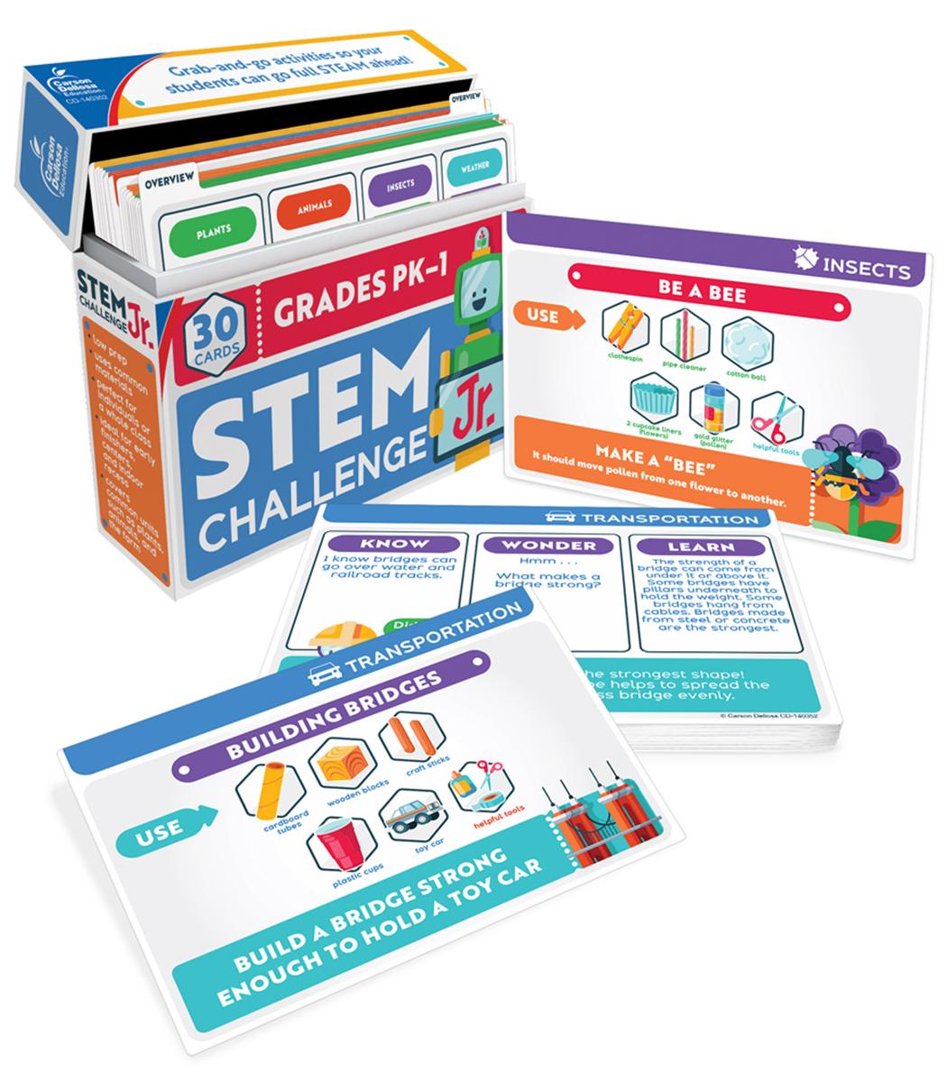 STEM Challenge Jr. Learning Cards
