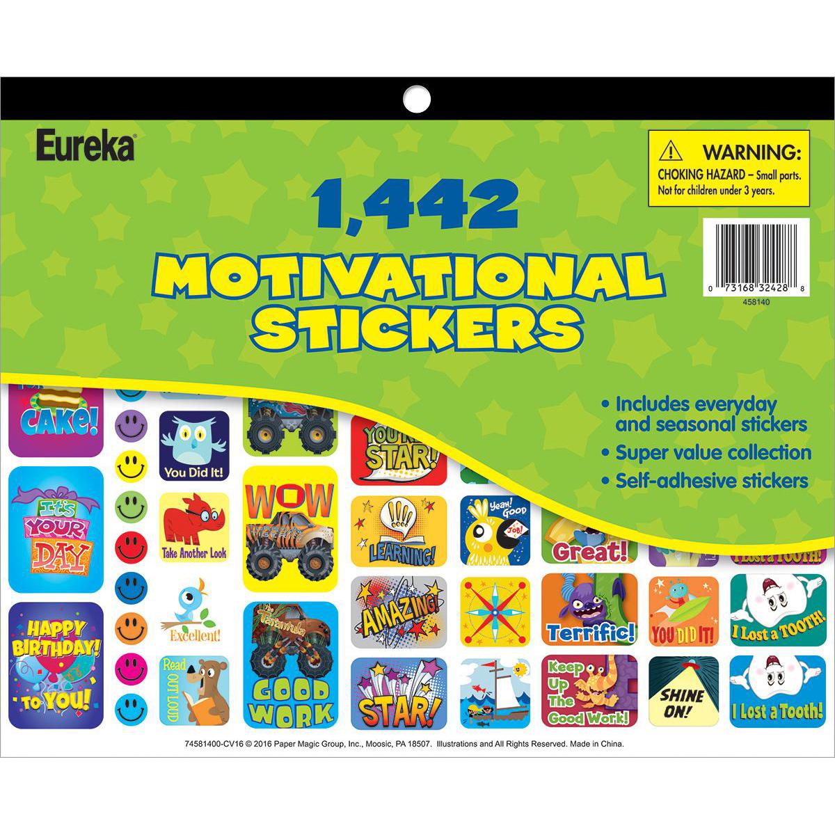 Motivational Jumbo Sticker Book