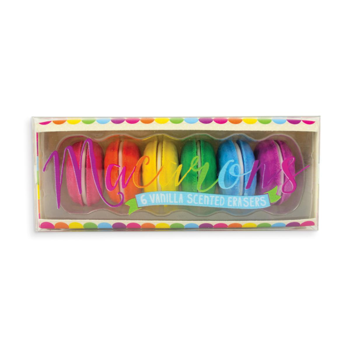 Macaron Scented Erasers