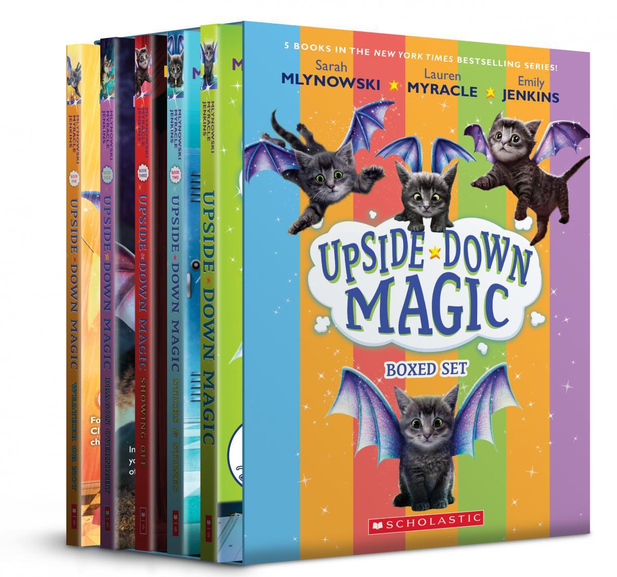 Upside-Down Magic #1-#5 Boxed Set