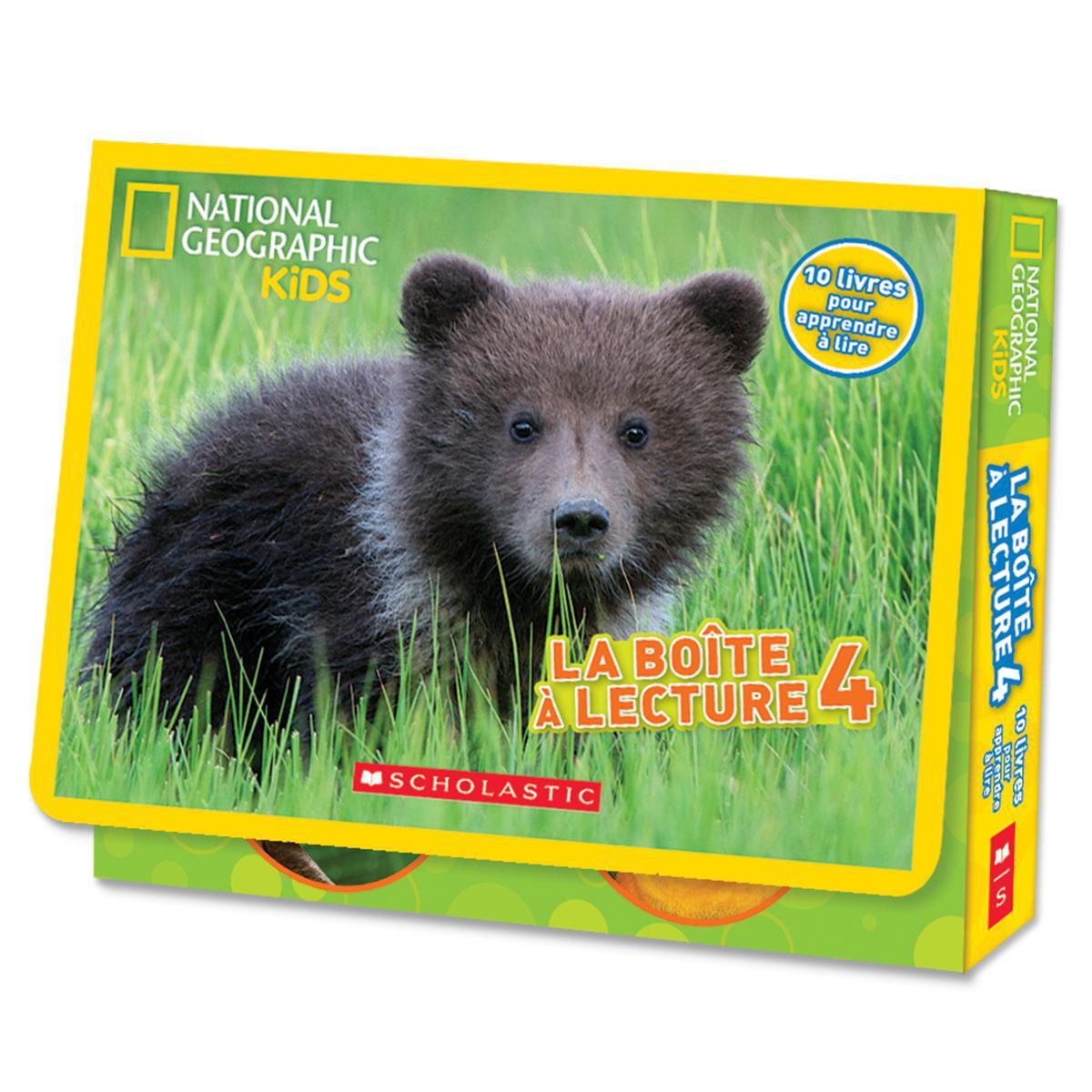 National Geographic Kids : La boîte à lecture 4