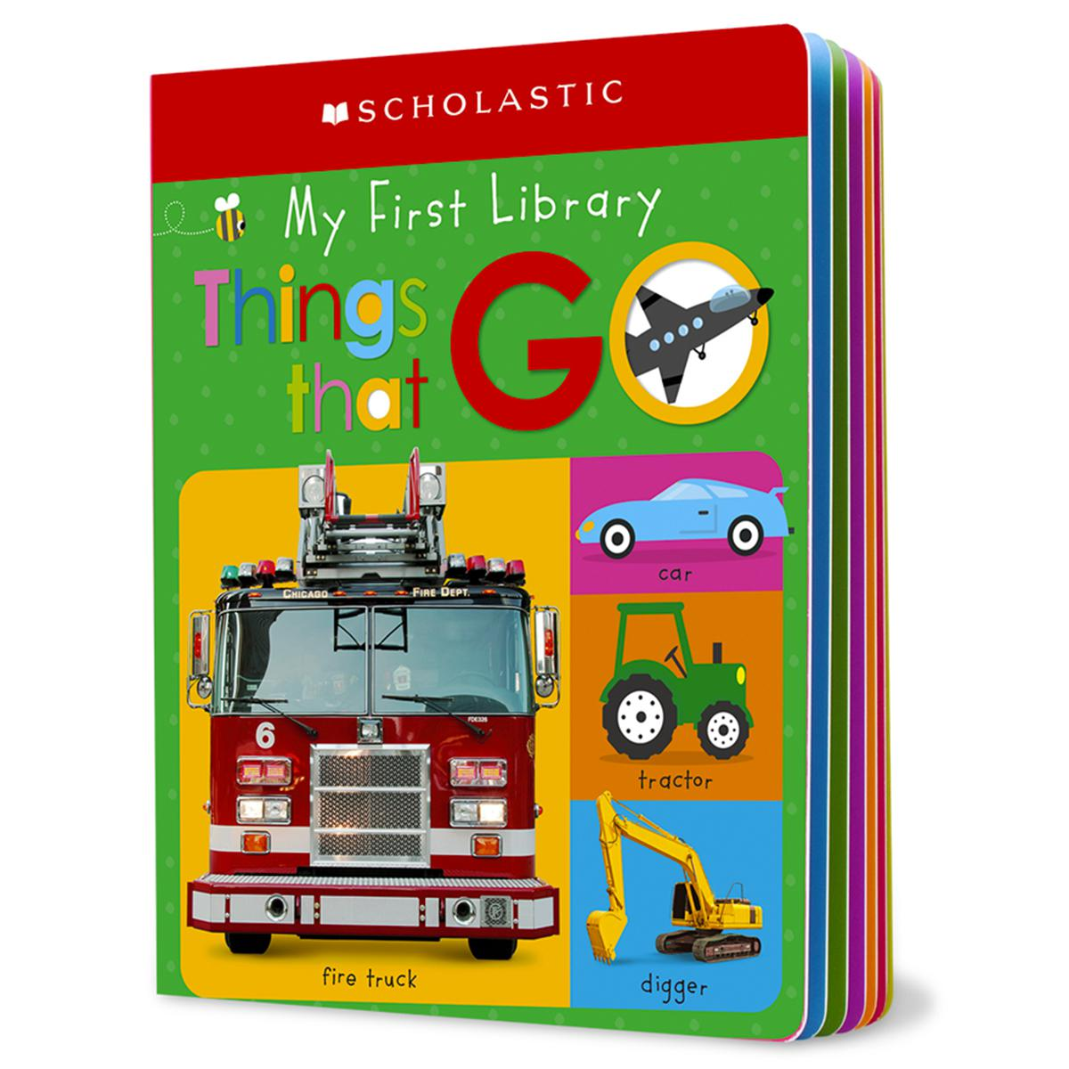 Scholastic Early Learners: My First Library: Things That Go