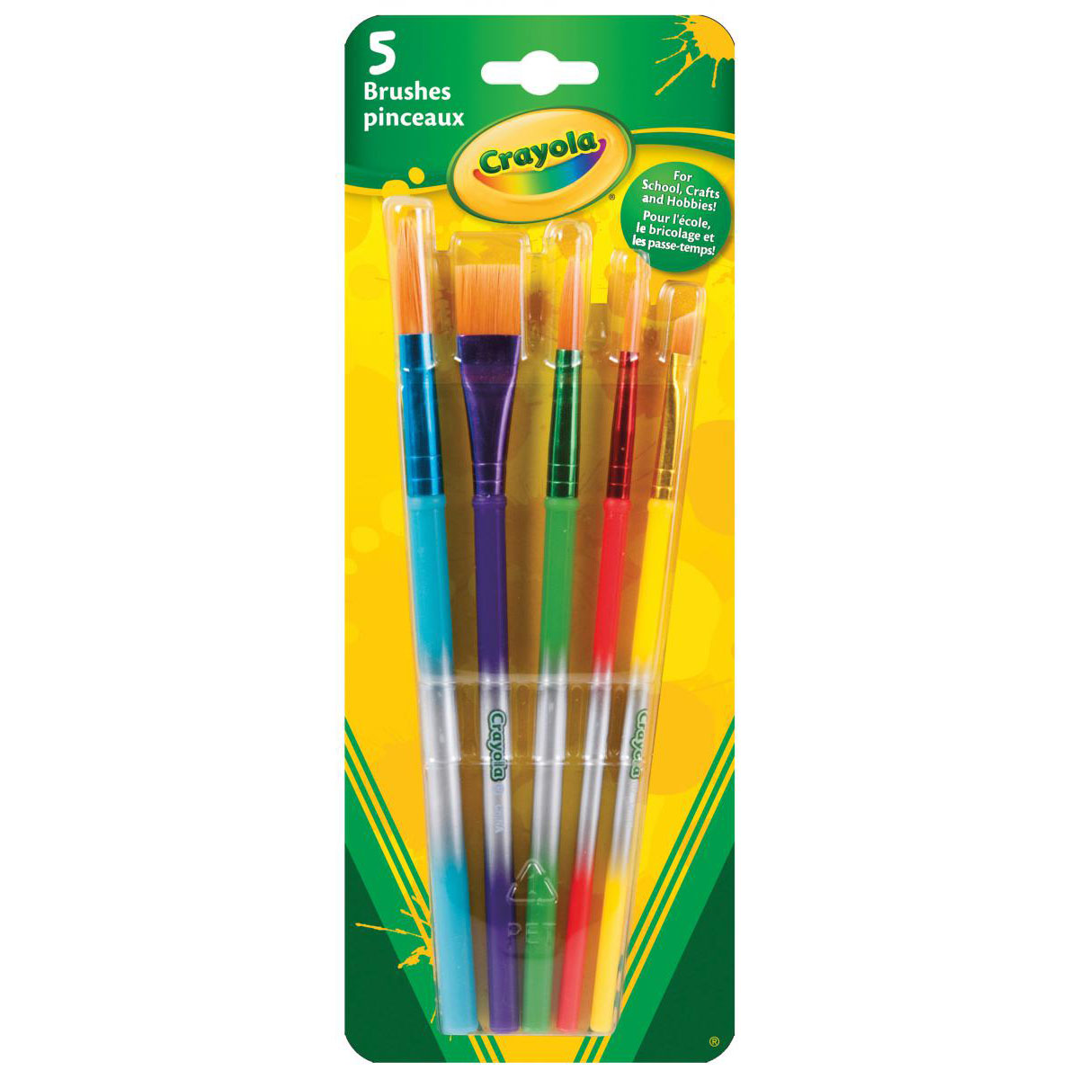 Crayola® Assorted Paint Brushes