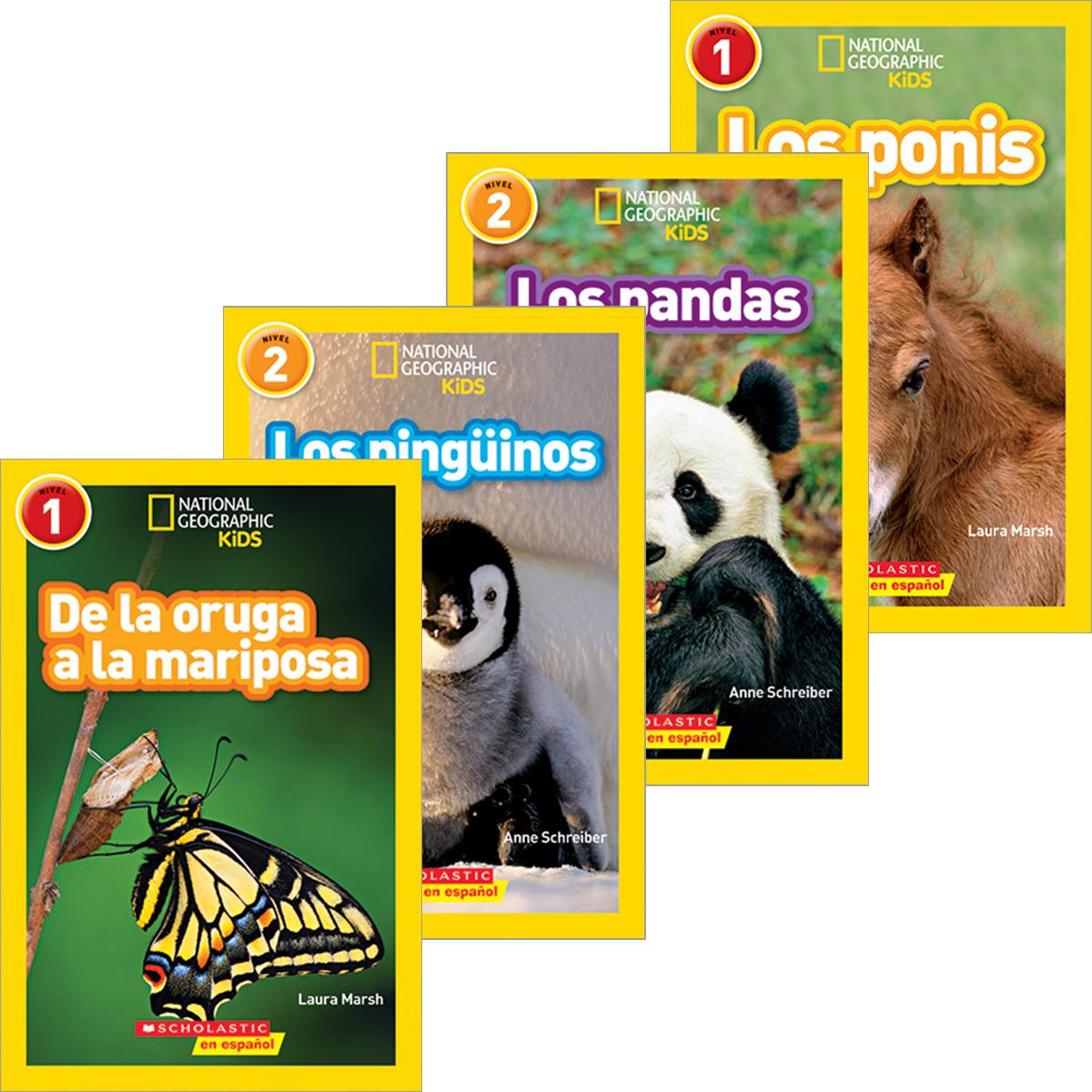 National Geographic Spanish Readers Pack