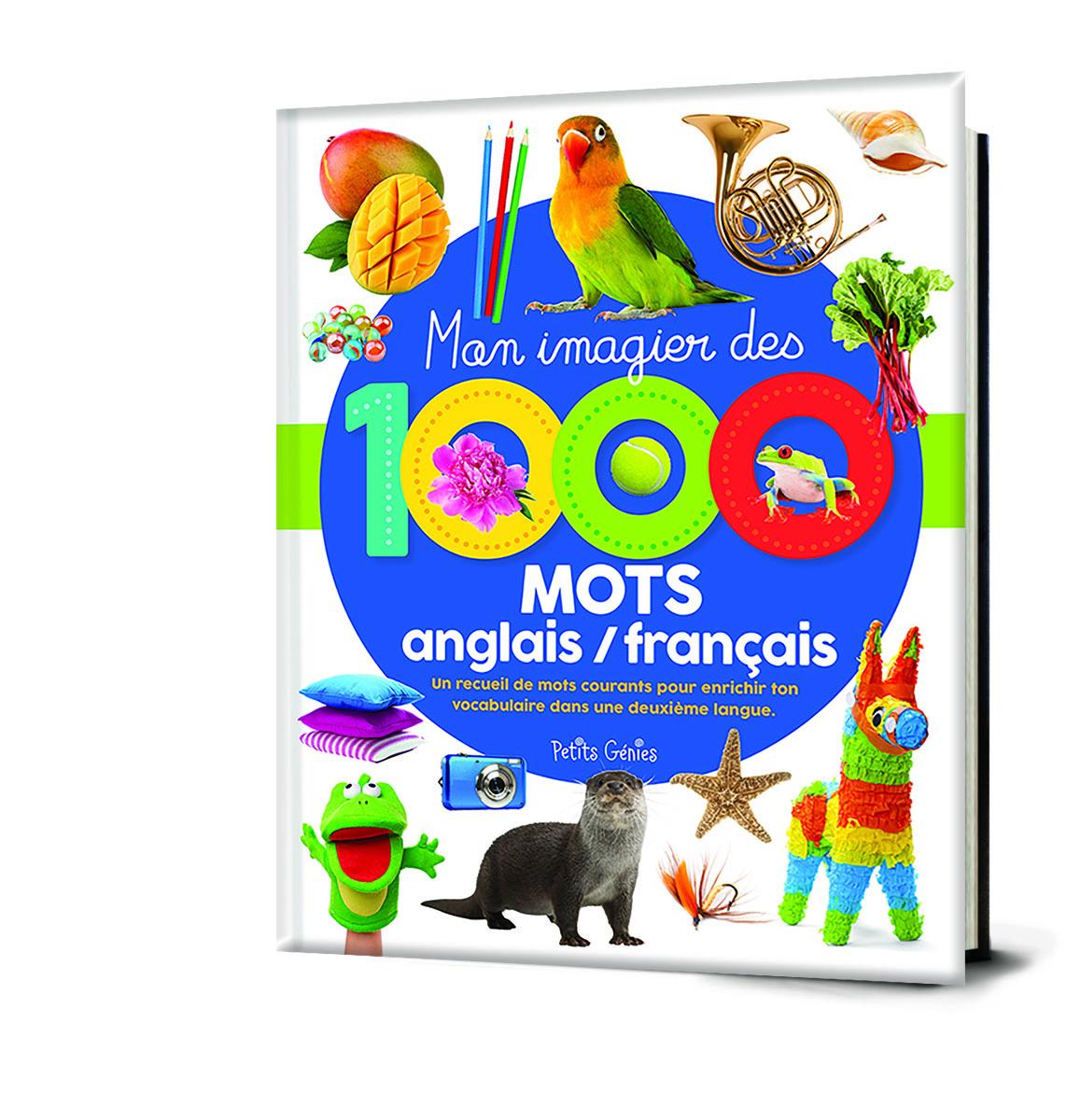 Mon imagier des 1000 mots anglais-français